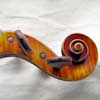 violin scroll side view
